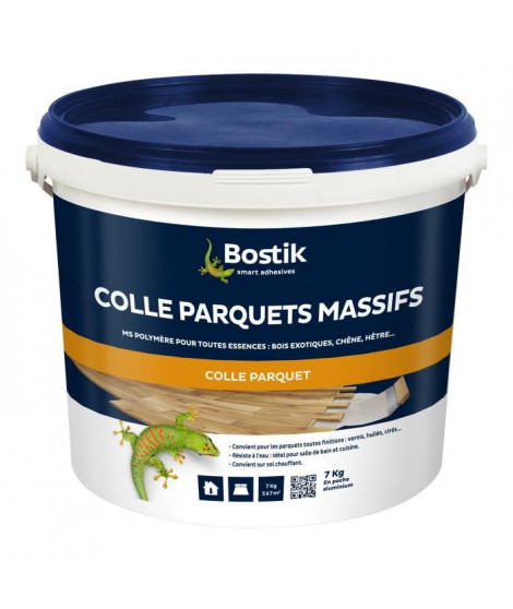 BOSTIK Colle Parquets Massifs - 7kg