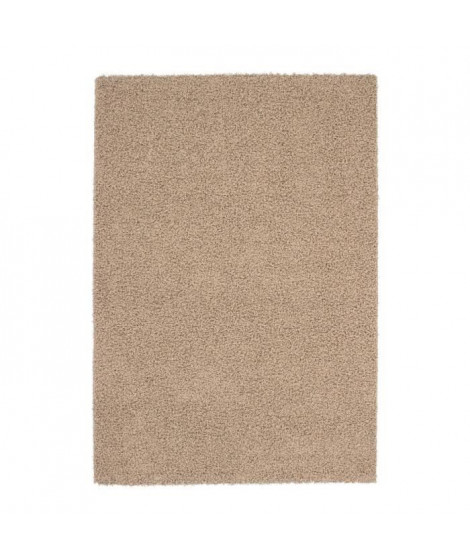 Tapis de salon Shaggy TRENDY 30mm 80x140 cm Beige