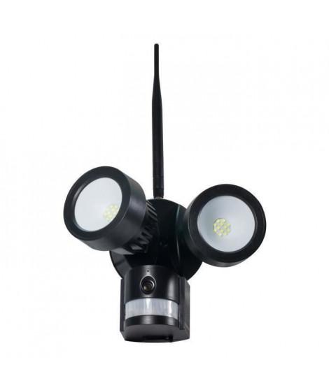 TECHNAXX Caméra de surveillance IP HD extérieur avec projecteur LED TX-83