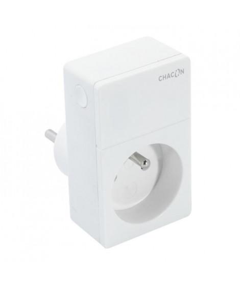 CHACON Prise sans fil Wi-Fi connectée pilotable a distance