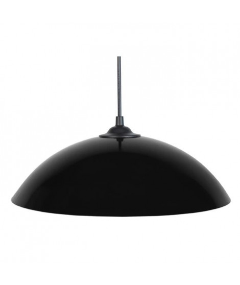 DEMI-LUNE Suspension 29,5cm métal noir