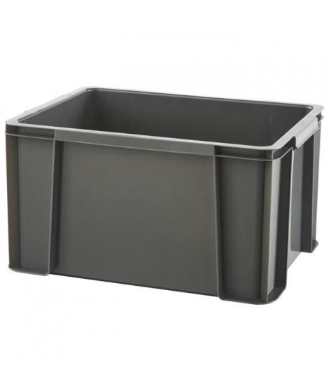 SUNDIS Bac boîte de rangement Masterbox 17L 38x29x20,5 cm anthracite