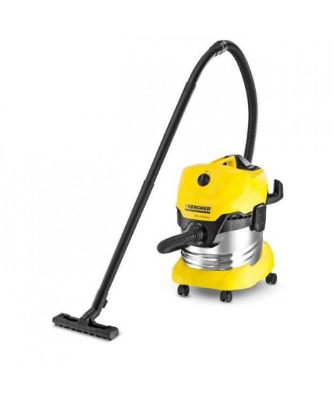 KÄRCHER Aspirateur eau-poussiere WD 4 Premium - cuve inox 20L