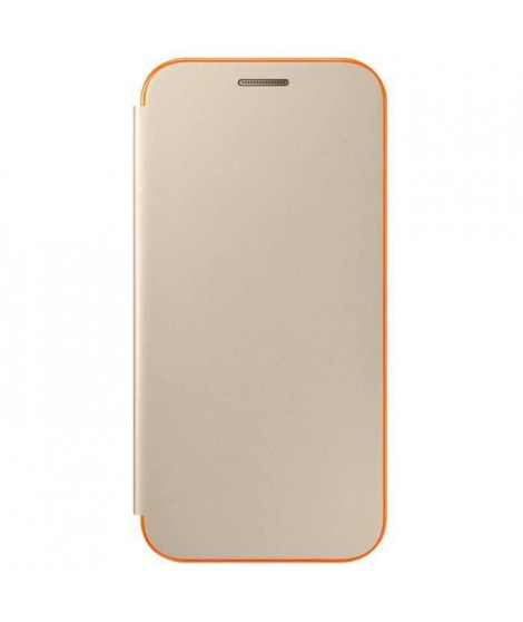 Samsung Neon Flip Cover A3 2017 - Or