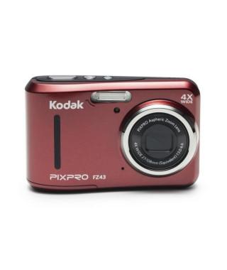 KODAK - FZ43-RD - Appareil photo compact - Rouge