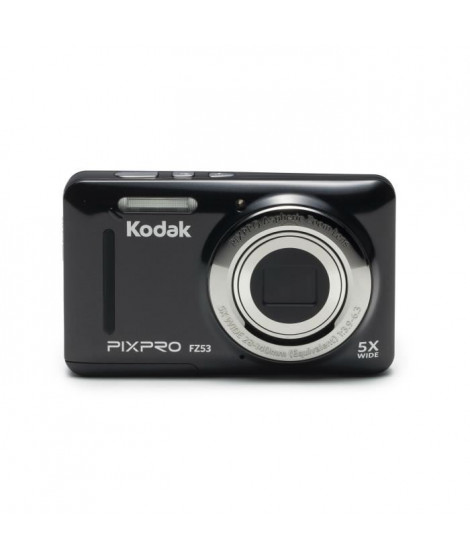KODAK - FZ53-BK - Appareil photo compact - Noir