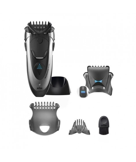 Tondeuse Multifonction Barbe et Cheveux - Braun MG5090 avec Technologie Wet&Dry