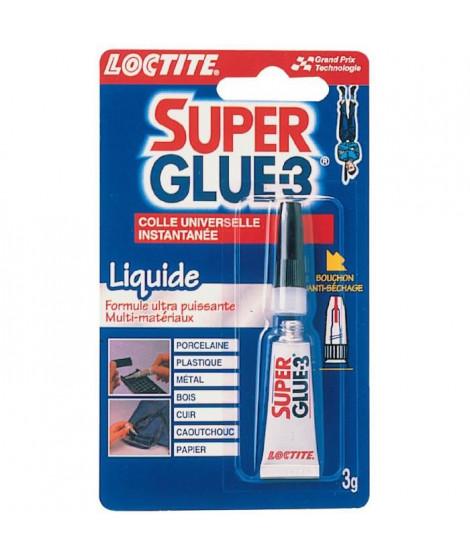 Super glue 3 Loctite - Liquide 3 g