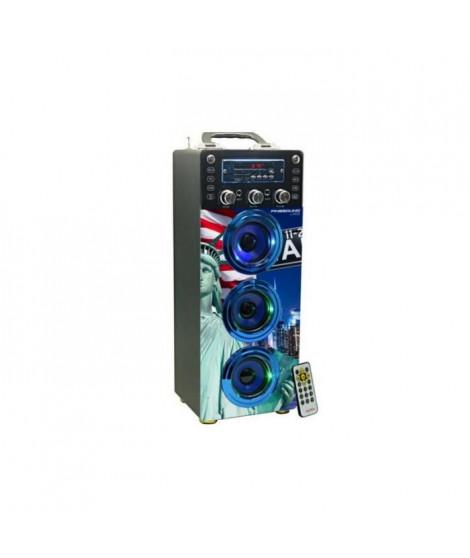 INOVALLEY DANCE CUBE 40 Enceinte Bluetooth lumineuse - Karaoke
