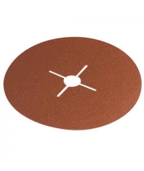 WOLFCRAFT Lot de 5 Disques fibre pour meuleuse Gr24 - Ø 125 mm