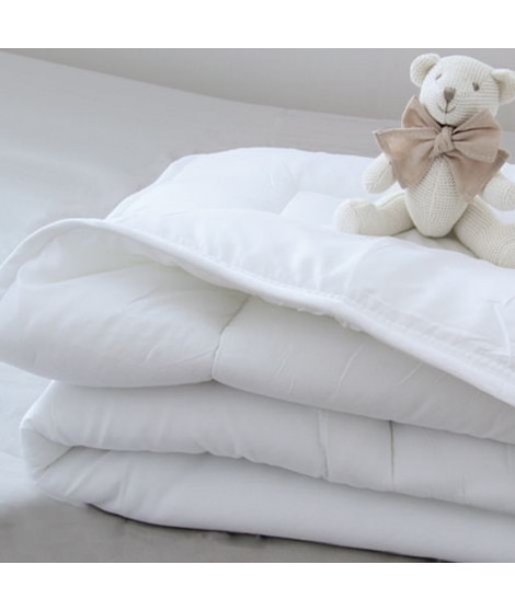 DOUX NID Couette 70 x 120 Blanc