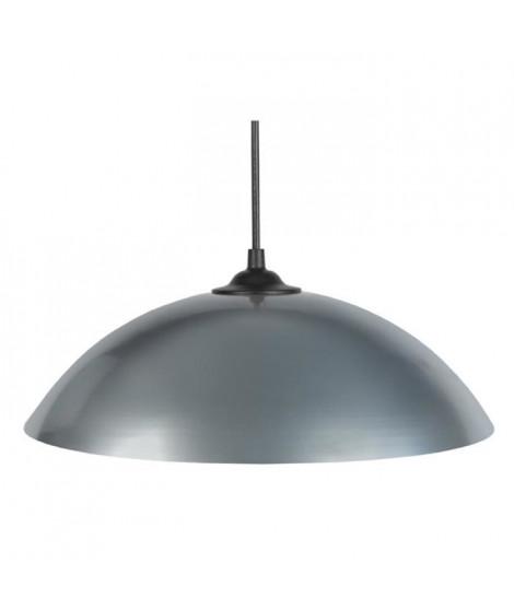 DEMI-LUNE Suspension 29,5cm métal aluminium