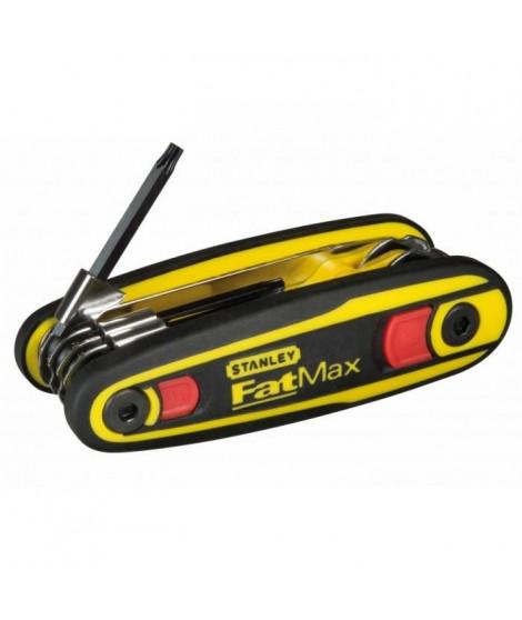 STANLEY Clés Torx sur monture FMX- 8pieces