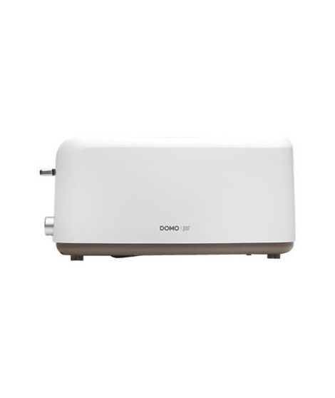 DOMO DO968T Grille-pain a larges compartiments ? 1330W - Blanc