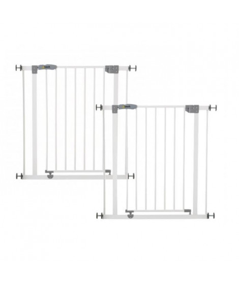 HAUCK Lot de 2 barrieres de sécurité enfant Open'n Stop - 75*81 cm