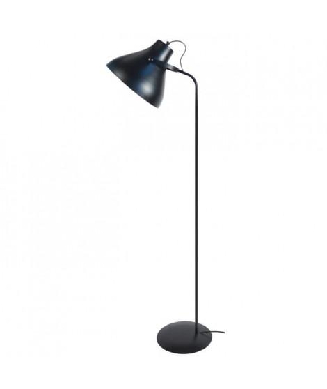 TOSELIA Lampadaireliseuse H150cm Noir