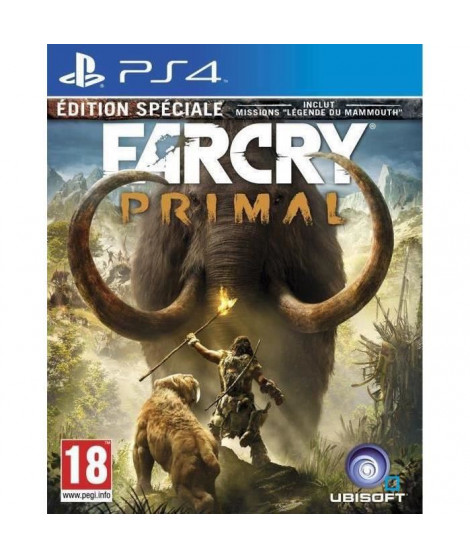 Far Cry Primal Edition Spéciale Jeu PS4