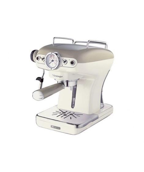 ARIETE 1389/1 Machine a espresso vintage - 900W - Beige