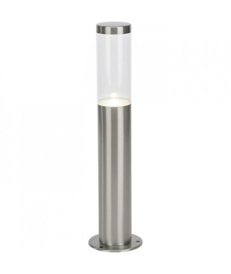 BRILLIANT Borne extérieure LED Bergen - 40x10 cm - Acier
