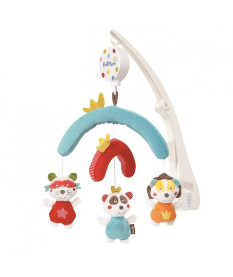 BABYSUN Mobile Musical de Voyage Jungle Heroes