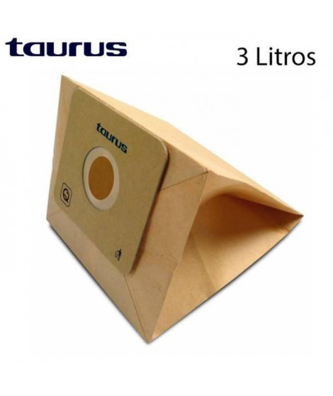 TAURUS 999175000 Set de 5 sacs aspirateurs ECO