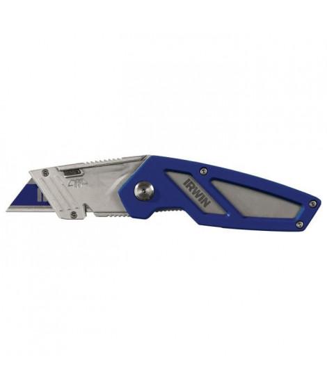 IRWIN Couteau pliant FK100 avec lame bi-métal