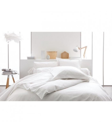 TODAY Housse de couette CHANTILLY 140x200cm 100% coton - Blanc