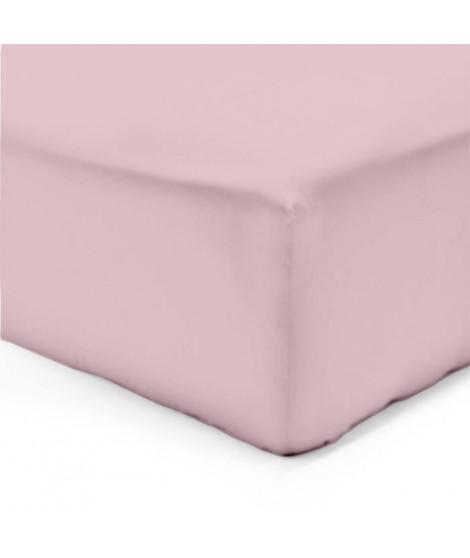 VISION Drap housse 200x200cm ROSE