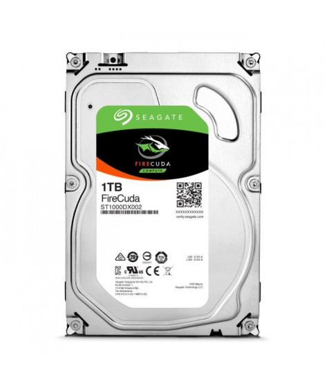 Seagate Desktop HDD FireCuda 1To 3,5""