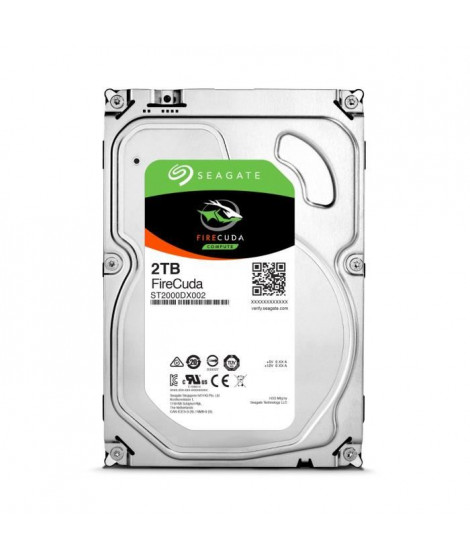 Seagate Desktop HDD FireCuda 2To 3,5""