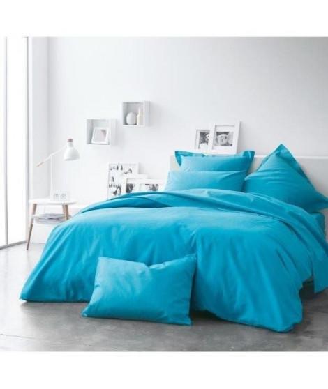 TODAY Housse de couette MER DU SUD 220x240cm 100% coton - Bleu Océan