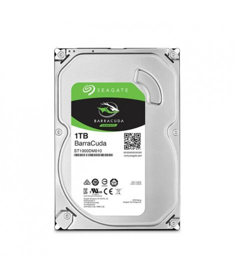 "Seagate Desktop HDD BarraCuda 1To 3,5"" - ST1000DM010"
