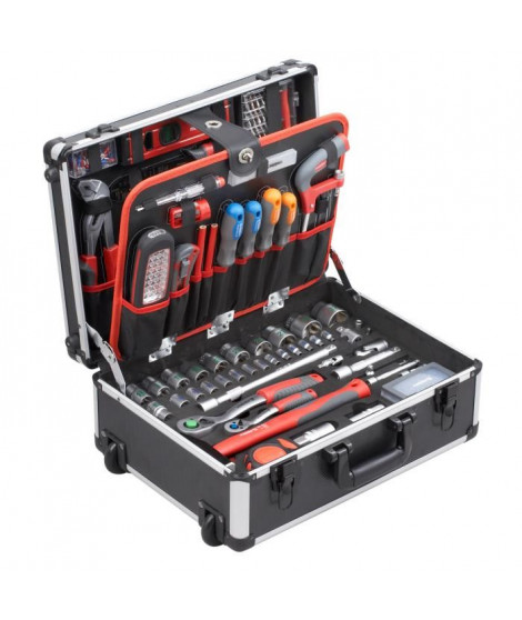 MEISTER Trolley a outils 156 pieces