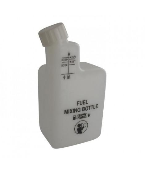 JARDIN PRATIC Bouteille en plastique pour mélange  2 Temps - Graduée a 1/25, 1/32, 1/40, 1/50