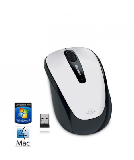 Microsoft Souris sans fil Mobile Mouse 3500 White