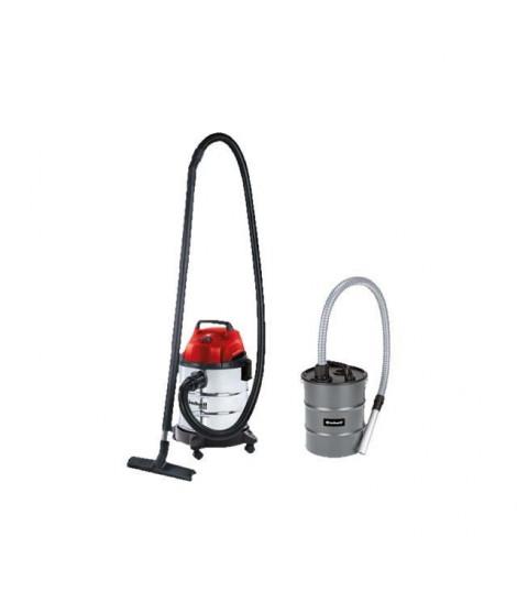 EINHELL Aspirateur eau et poussiere cuve 20L 1250W - fonction soufflerie - TH-VC 1820S avec bidon vide cendres