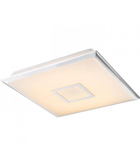 Plafonnier LED Chrome 8x46,5x46,5cm