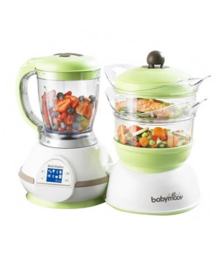 BABYMOOV Robot Culinaire Nutribaby Taupe/Amande