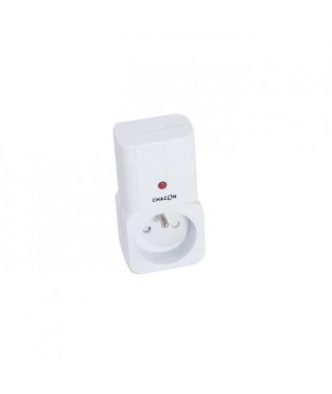 CHACON Prise connectée on/off supplémentaire pilotable a distance via une télécommande