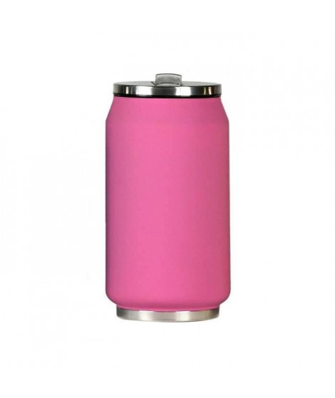 YOKO DESIGN Canette Isotherme 280 ml en Inox Rose