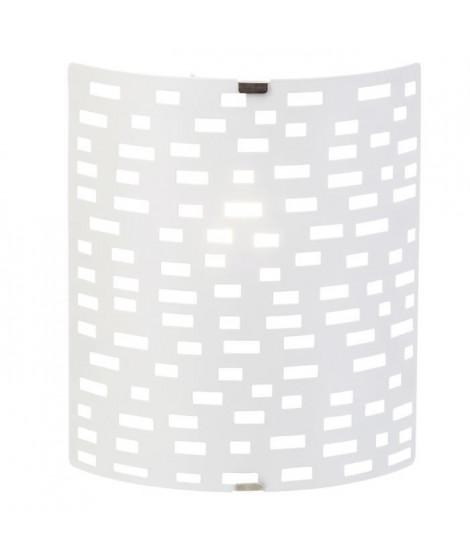 BRILLANT Applique/Plafonnier Melville E14 40W blanc
