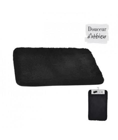 Tapis de bain chinchilla noir 50x80 cm