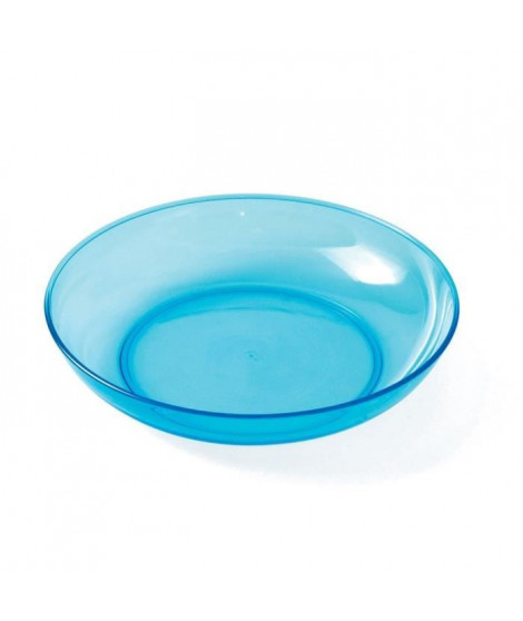 PLASTOREX Assiette micro-ondable Copolyester 18,5 cm lagon