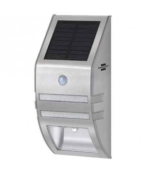 BRENNENSTUHL Lampe Led solaire SOL WL 02007 avec PIR et capteur crépusculaire