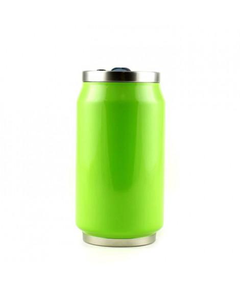 YOKO DESIGN Canette isotherme summer 280ml fluo vert