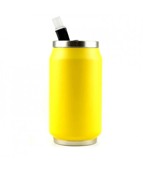 YOKO DESIGN Canette isotherme summer 280ml fluo jaune