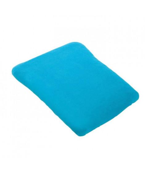 DOUX NID Housse de matelas a langer 50x75 cm Turquoise