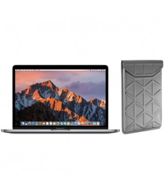 """APPLE MacBook Pro MPXW2FN/A - 13"""" avec Touch Bar - Intel Dual Core i5 - Stockage 512Go - Gris sidéral + TARGUS Housse - Argent"""