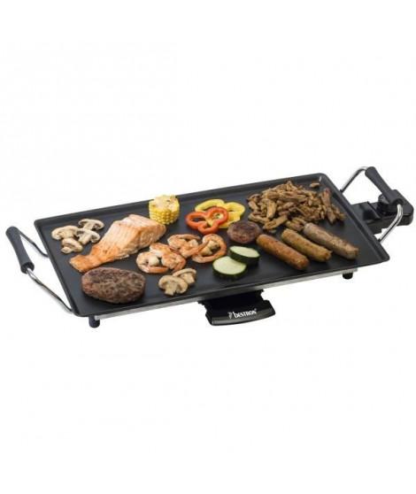 BESTRON ABP602 Plancha 48x27cm - Récupérateur de graisse intégré
