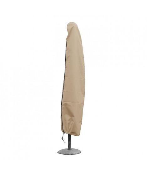 GREEN CLUB Housse de protection pour parasol droit 3x3 m - 40x30x210 cm - Beige